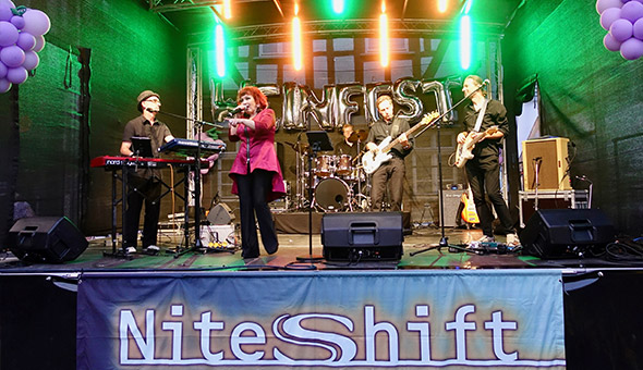 Weinfest Butzbach, Coverband