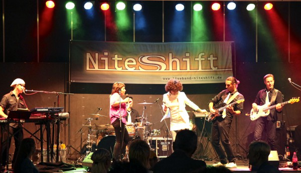 Live Entertainment Partyband Nightshift
